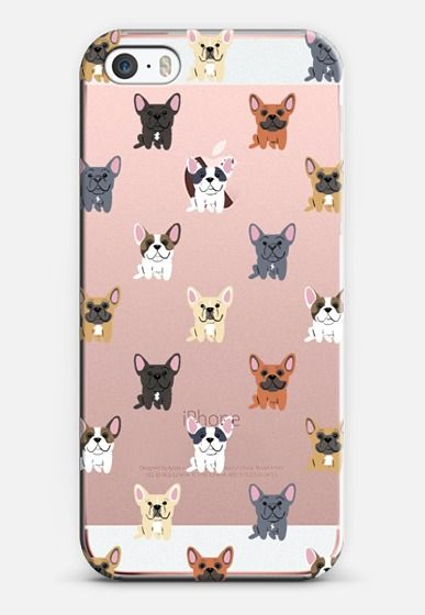 French Bulldogs - CLEAR iPhone 6s Case by Lili Chin | Casetify Canada