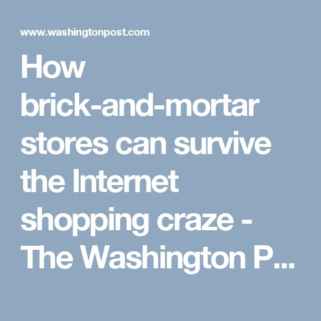 Danielle Hoblin (11/12)- This article from the Washington post goes through points of how brick-and-mortar stores can survive the competition of online retailing. Exploring how our demographic is buying apparel will give us a leg up on how people are marketing and what our demographic is shopping for as influenced by the marketing.