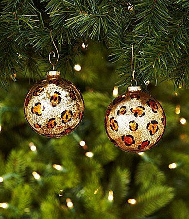 Leopard Decorative Balls Captivating 57 Best Leopard Christmas Ball Images On Pinterest  Christmas Design Ideas