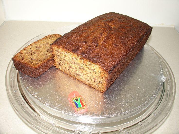 (Jul 2013) South African Recipe Banana Bread