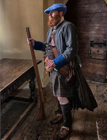 Scottish Jacobite - Just out of period, but hey, how often do those highlanders change gear?  Anyway, basics are the same!