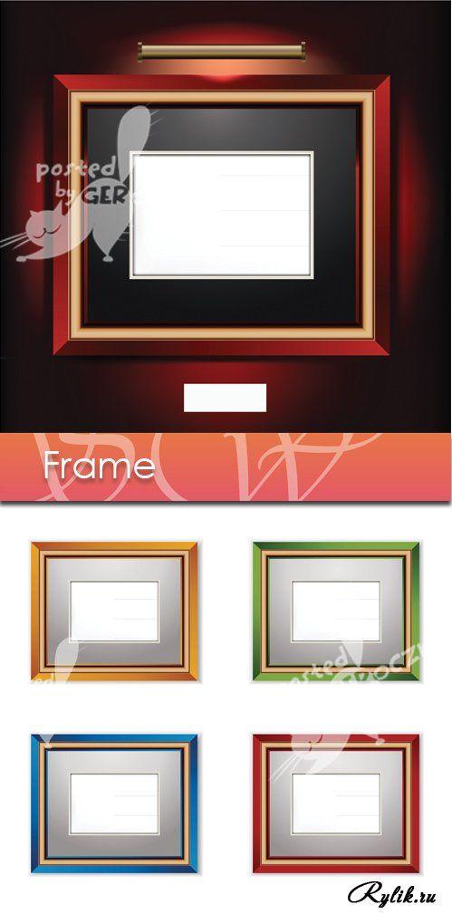 Векторные рамки. Frame vector
