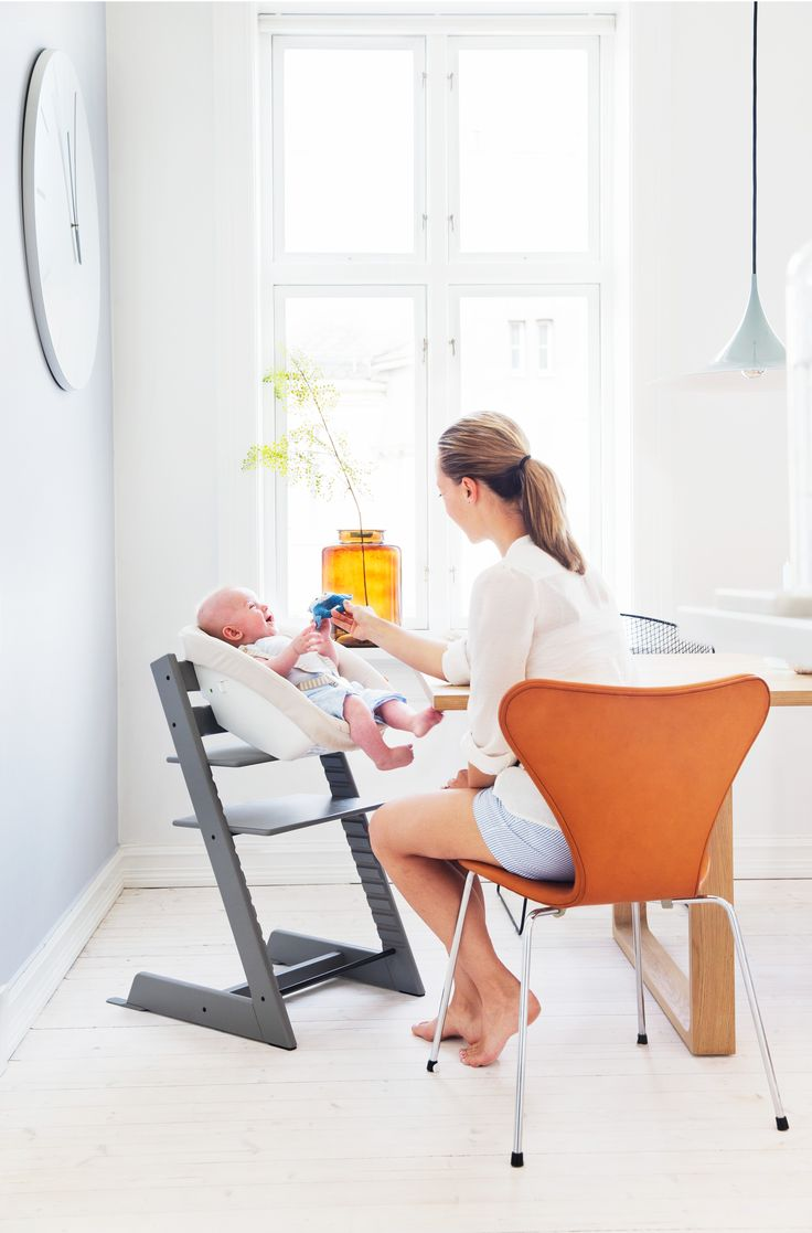 Stokke high chair cherry - Stokke Tripp Trapp High Chair With Newborn Set Accessory Not Available In All Markets