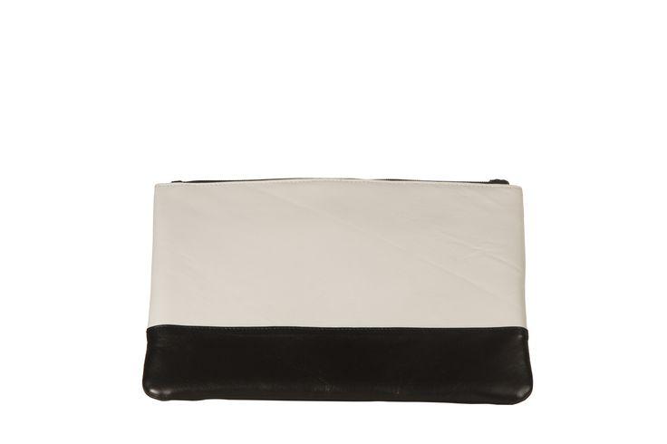 Stine Kim Design Unforgettable Clutch #blackandwhite