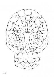 doodshoofd sugar skull