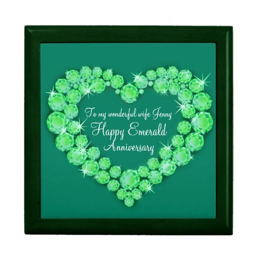 Emerald Wedding Anniversary Gifts: 36 Best Images About Emerald Wedding Anniversary (55th) On