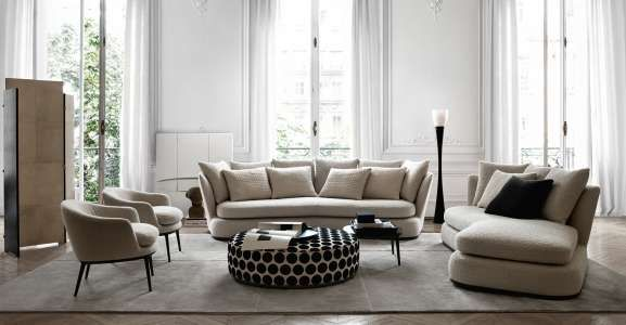 Sofa Apollo Maxalto Design By Antonio Citterio Italian Sofa Designs Italian Sofa Sofa Design