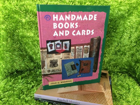 Handmade Books and Cards Hard Cover Book Jean G by NeutralNellies