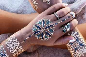 24 Metallic Tattoos That Will Give You Life This Summer