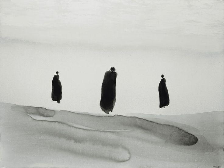 'Painting Begins Where Language Fails': Gao Xingjian Ink-Paintings : socks-studio
