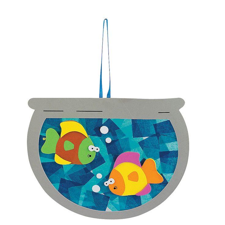 Tissue Paper Fishbowl Craft Kit