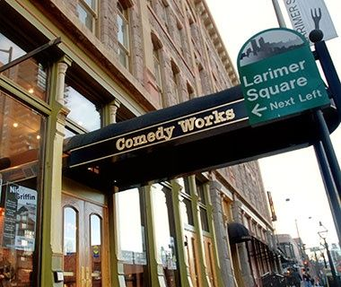 Denver Comedy Works is ranked among America's top comedy clubs! The city actually has a vibrant scene. #UrLendr4Life