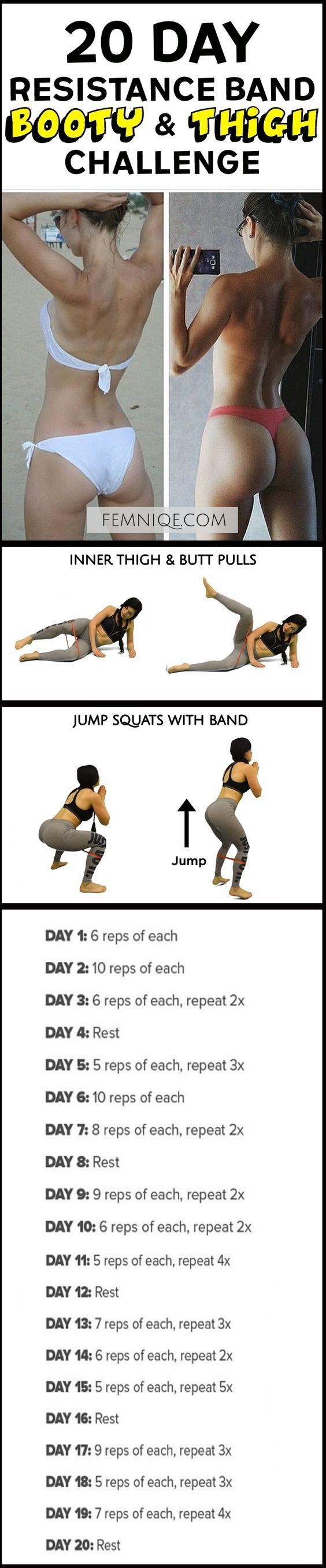 4 Not Boring Butt Exercises With Resistance Bands - Fitness is life, fitness is BAE! <3 Tap the pin now to discover 3D Print Fitness Leggings from super hero leggings, gym leggings, fitness, leggings, and more that will make you scream YASS!!!