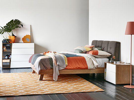 Dusk Quattro Bed Frame: Queen Bed Frame
