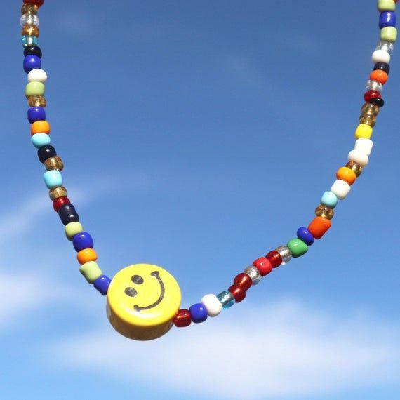 Rhinestone Key Ring Emoji Jewelry Jewelry Beaded Bracelets