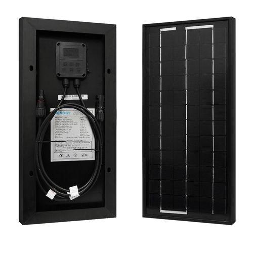 10 Watt 12 Volt Monocrystalline Solar Panel Monocrystalline Solar Panels Best Solar Panels Solar Panels