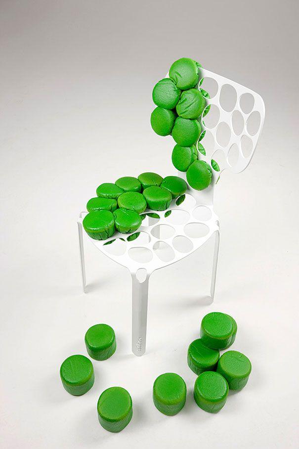 25 modernos diseños de sillas en Cultura Inquieta