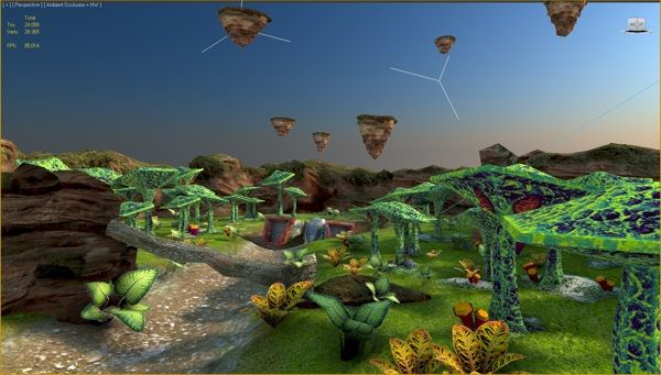 Game Scene by Silviu Avram, via Behance