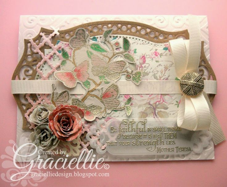 Graciellie Design - HIMCR DT #148, Our Daily Bread Designs, Haj Design paper, made with scraps, vintage, shabby chic, vellum, floral, #sbspotlightsunday