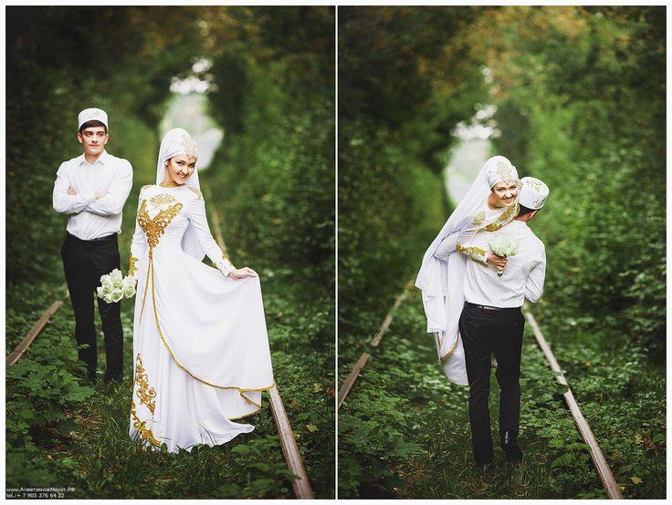 Фтограф на никах, платок на никах, платьена никах. Фотогараф в Казани Марат Ахметзянов. 89053766422