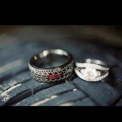 Wedding Rings That Look Like Tires