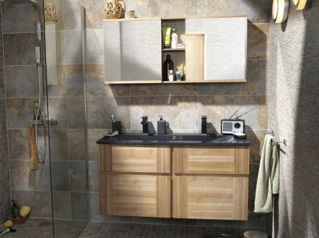 1000 id es sur le th me meuble lavabo double de la salle. Black Bedroom Furniture Sets. Home Design Ideas
