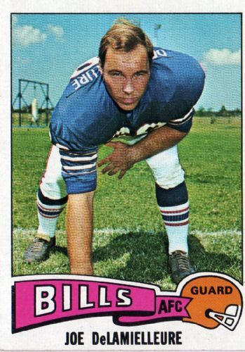 #1 RG #24 Bill 19731985 Joe DeLamielleure