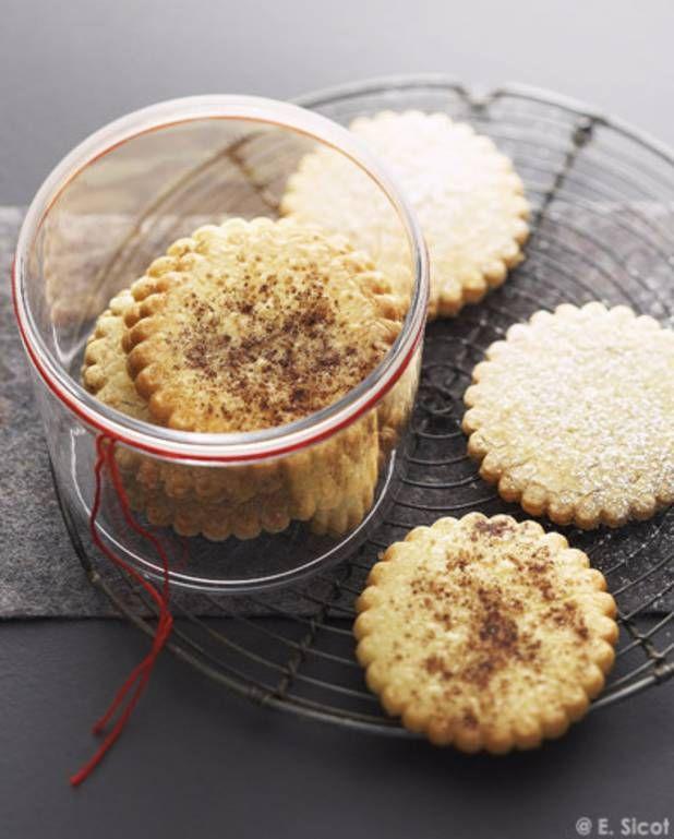 Biscuits nature façon sablés bretons pour 6 personnes - Recettes Elle à Table