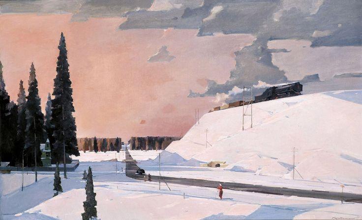 Г. Нисский. Подмосковье. Февраль. 1957. ГТГ