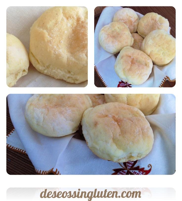 Deseos Sin Gluten: MOLLETES SIN GLUTEN