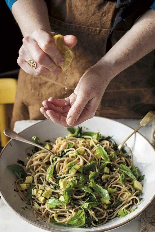 In the Kitchen With: Anna Jones' Avocado and Lemon Zest Past... | Design*Sponge | Bloglovin'