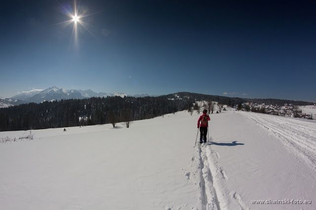 Backcountry skiing in Zakopane area. wwww.simplycarpathians.com