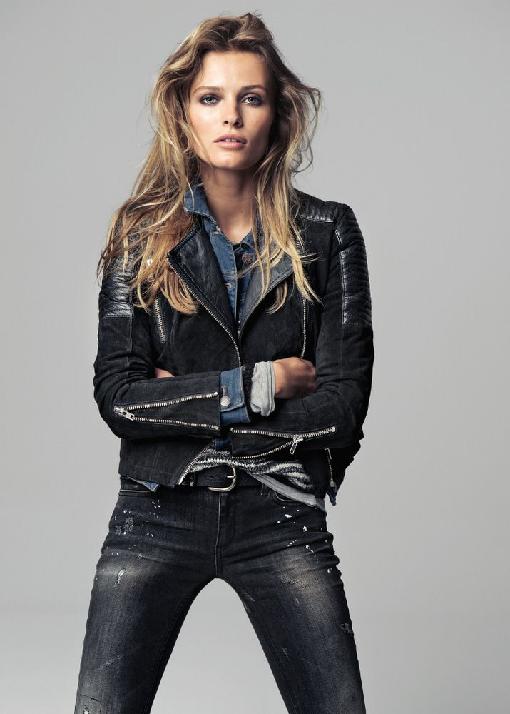 Edita Vilkeviciute for Mango Fall 2013 _