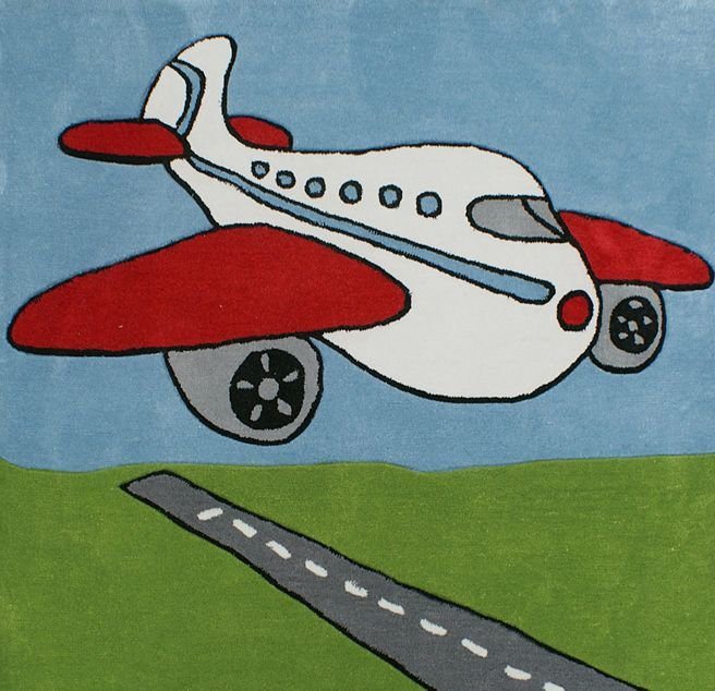 Happy Rugs w Limango - dywan do pokoju dziecięcego w samoloty