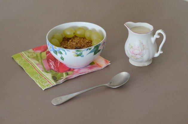Granola maison d'automne aux noix et à l'érable