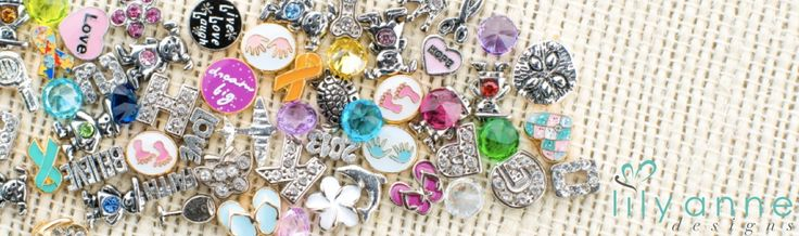Some of our gorgeous charms for your Personalised Locket.
