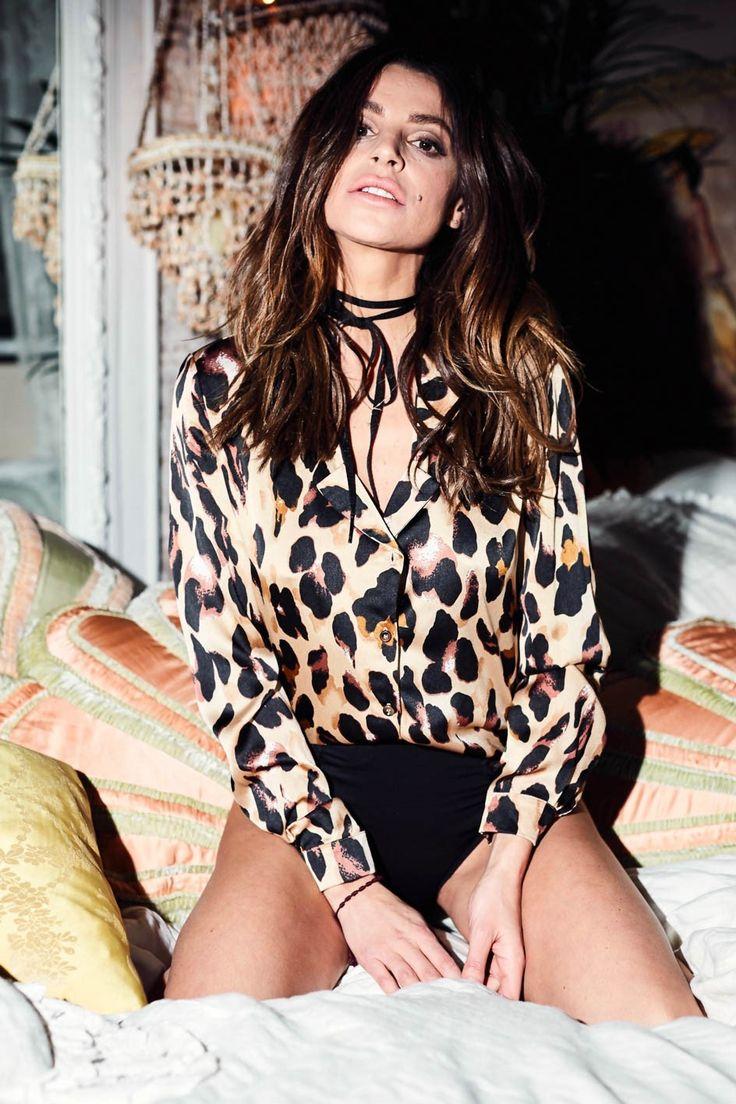 Chester Shirt Leopard