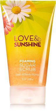 Love & Sunshine Foaming Sugar Scrub - Signature Collection - Bath & Body Works
