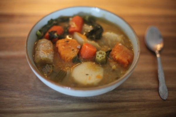 how to cook caribbean chicken soup