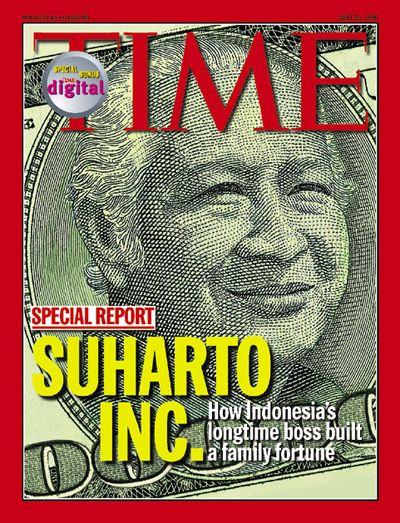 TIME Magazine cover - Soeharto Inc. - May 24, 1999