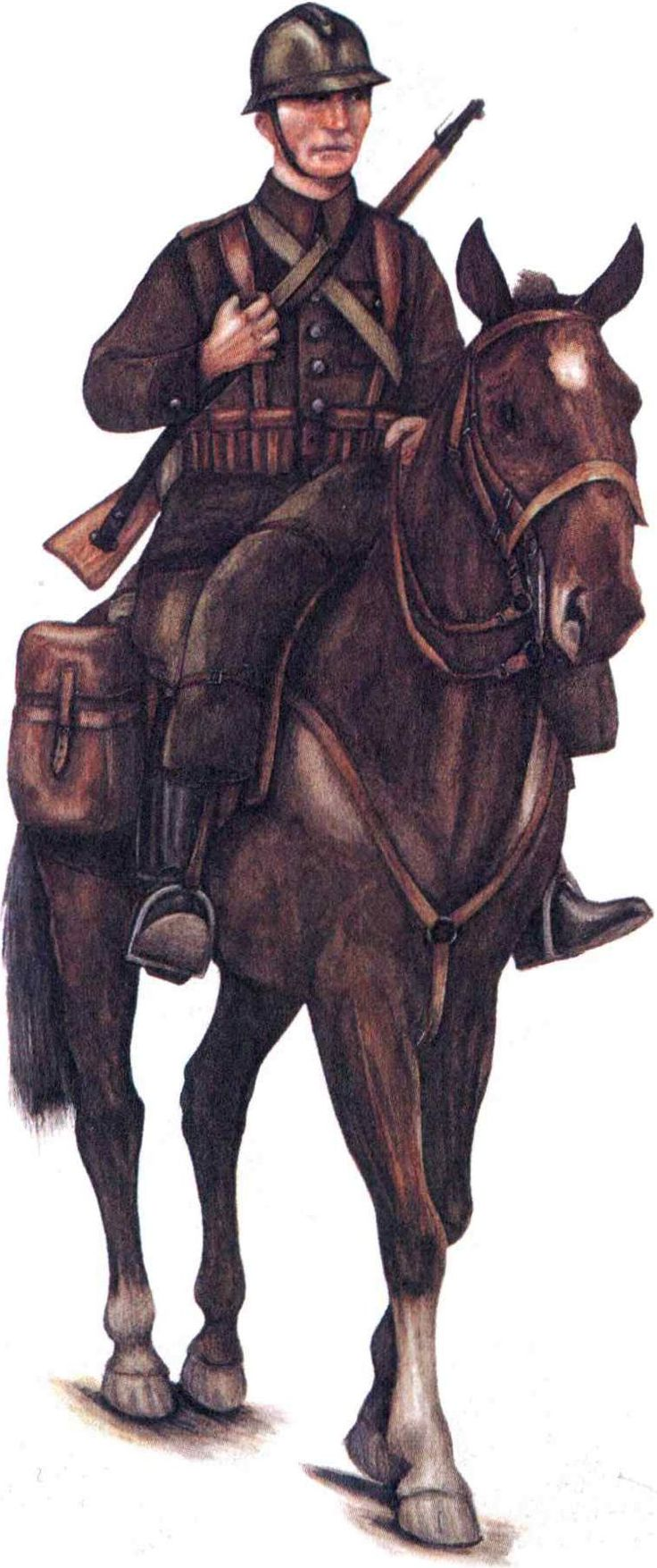 Polish Cavalry officer 1939 - pin by Paolo Marzioli