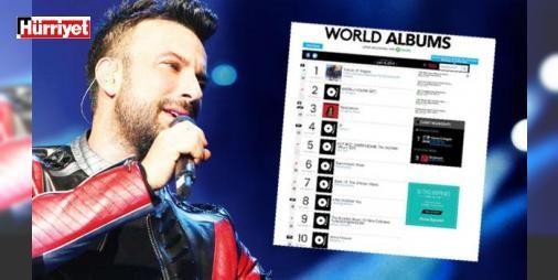 """Billboard Tarkan'ın peşinde: Tarkan'ın yeni albümü """"10"""", dünyaca ünlü Billboard müzik listesine 4'üncü sıradan girdi. Billboard dergisinin direktörü, albümle ilgili haber yapmak için DMC şirketiyle bağlantıya geçti."""
