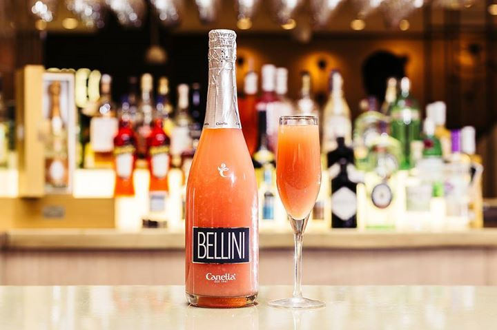 Enjoy a Bellini cocktail this weekend with Canella's readytogo fragrant offering