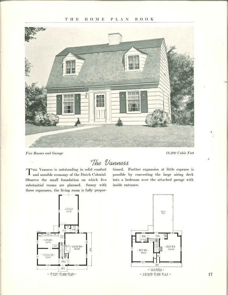 920 best dutch colonial images on pinterest exterior for Dutch house plans