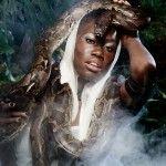 """Aminata Sanogo on the cover of """"Star"""" : Despite GNTM Off - Aminata Sanogo on the cover of Star! The model proudly:"""