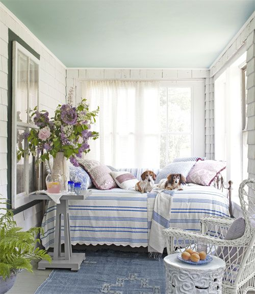 I want to nap here!: Maine Cottages, Sleeping Porch, Sunrooms, Sun Porches, Sleep Porches, Patio, Cottages Porches, Porches Idea, Front Porches