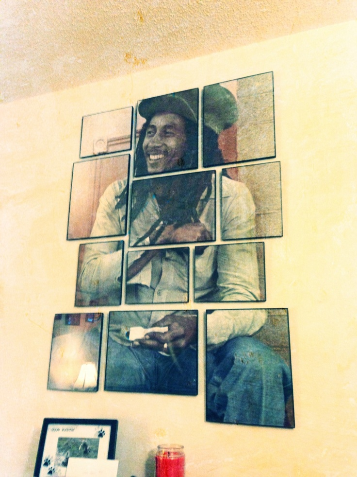 Bob marley poster divided around the house pinterest for Cuadros bob marley