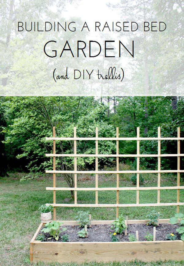 Our Raised Bed Garden DIY Trellis