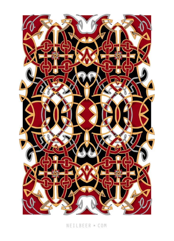 Celtic Textile Illustration