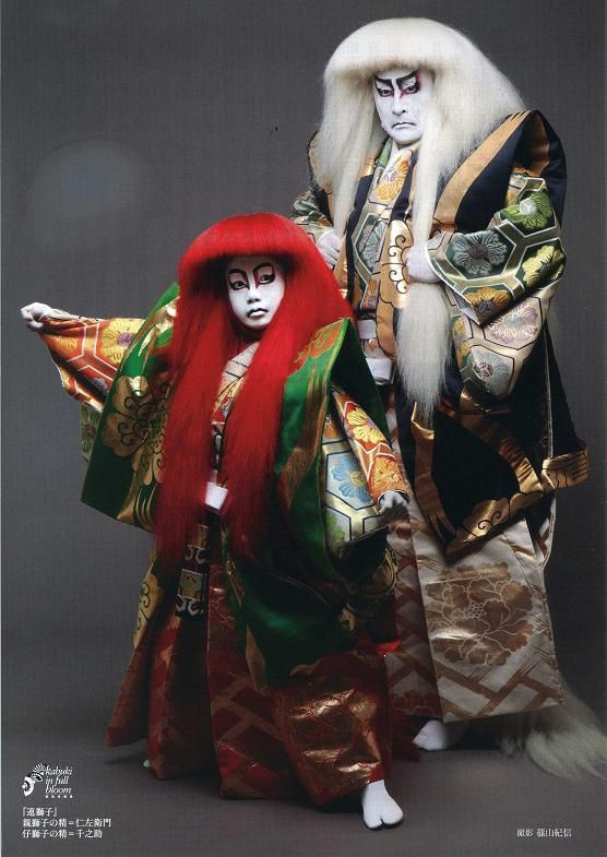 Kabuki Theater actors